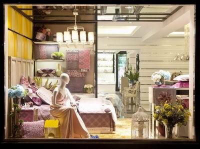 橱窗家纺:家纺专卖店大学定位平面设计品牌书籍广告设计九爱图片